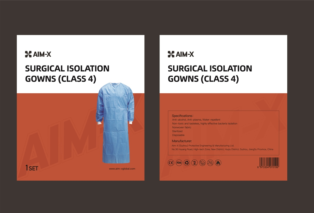 red_surgical_gown